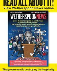 Wetherspoon News Do Lockdowns Work?